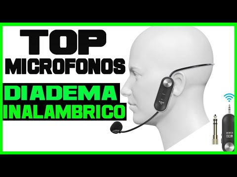 🥇 8 MEJORES MICROFONOS DE DIADEMA🎤 MEJORES MICROFONOS INALAMBRICOS DE DIADEMA💥 CALIDAD PRECIO✅ 2021