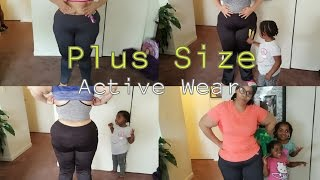 Workout Clothing For Plus Size Women  + Try On // Show and Tell