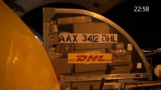 DHL Outbound Flight Operations AMS HUB