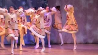 Северный танец в исполнении ансамбля Мазлтов