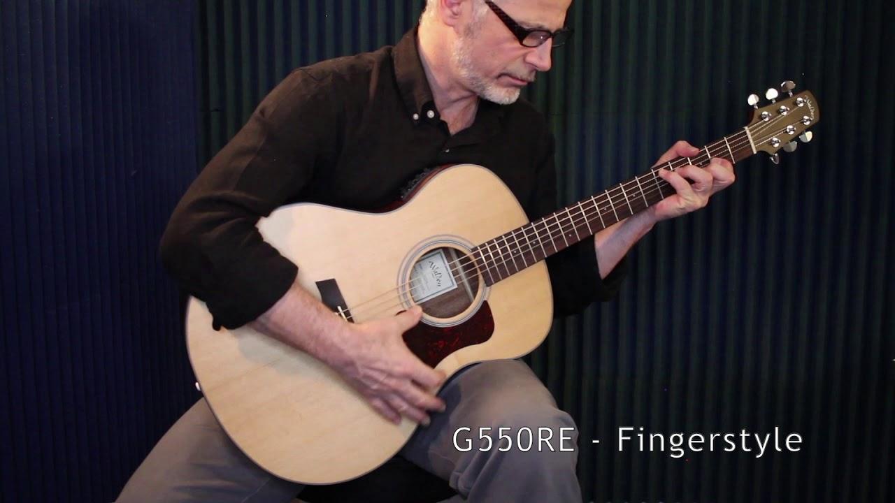 G550RE - Sound Clip: Fingerstyle