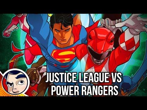 "Justice League Vs The Power Rangers ""The Meeting"" – InComplete Story"