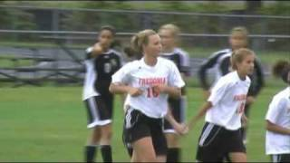 preview picture of video 'Silver Creek at Fredonia Girls Soccer, 10/14/08'