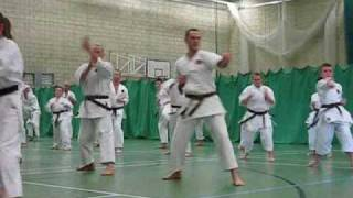 preview picture of video 'Okinawan karate. EGKA GRADING 2009   Traditional Okinawan Goju Ryu Karate training techniques'