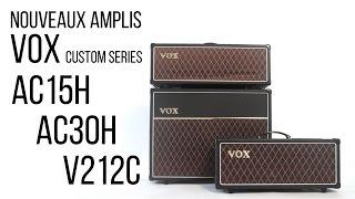 Vox AC15CH - Video
