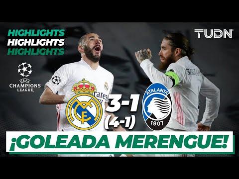 HIGHLIGHTS | Real Madrid 3(4)-(1)1 Atalanta | Champions League 2021 – 8vos Vuelta | TUDN