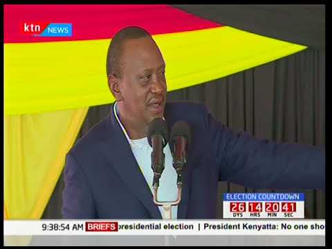 President Uhuru Kenyatta says he expects elections conducted within the 60 days