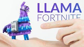 Supply Llama Chest (Fortnite Battle Royale) – Polymer Clay Tutorial