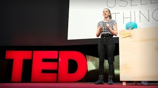 Why you should make useless things | Simone Giertz