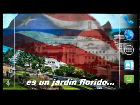 Video of 3D Puerto Rico Flag LWP +