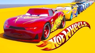 HOT WHEELS DOUBLE JUMP PARKOUR CHALLENGE (Cars 3 Challenge) | Kholo.pk
