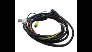 4 pin with BNC mini din extension cable