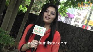 Hardika Shetty at Aal Movie Team Interview
