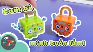 Lock Stars và câu chuyện buồn của Robot mặt buồn ToyStation 289