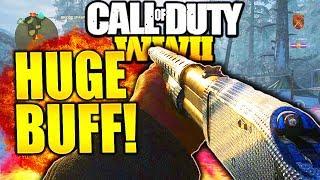 THIS GUN IS INSANE AFTER HUGE BUFFS IN CALL OF DUTY WW2! COMBAT SHOTGUN BEST CLASS SETUP COD WW2!