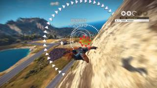 Just Cause 3 Gameplay: Wingsuit Challenge - Via Campania Tour High Score - Video Youtube