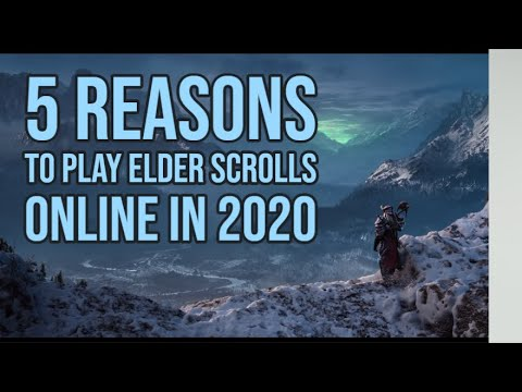 Elder Scrolls Online: 5 Reasons To Play In (2020)