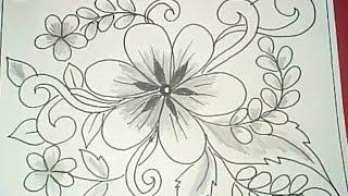Cara Menggambar Dan Mewarnai Batik Bunga ฟร ว ด โอ