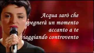 Controvento Arisa Karaoke (Base al piano con testo) Sanremo 2014