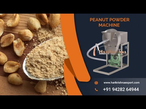 Peanut Grinding Machine