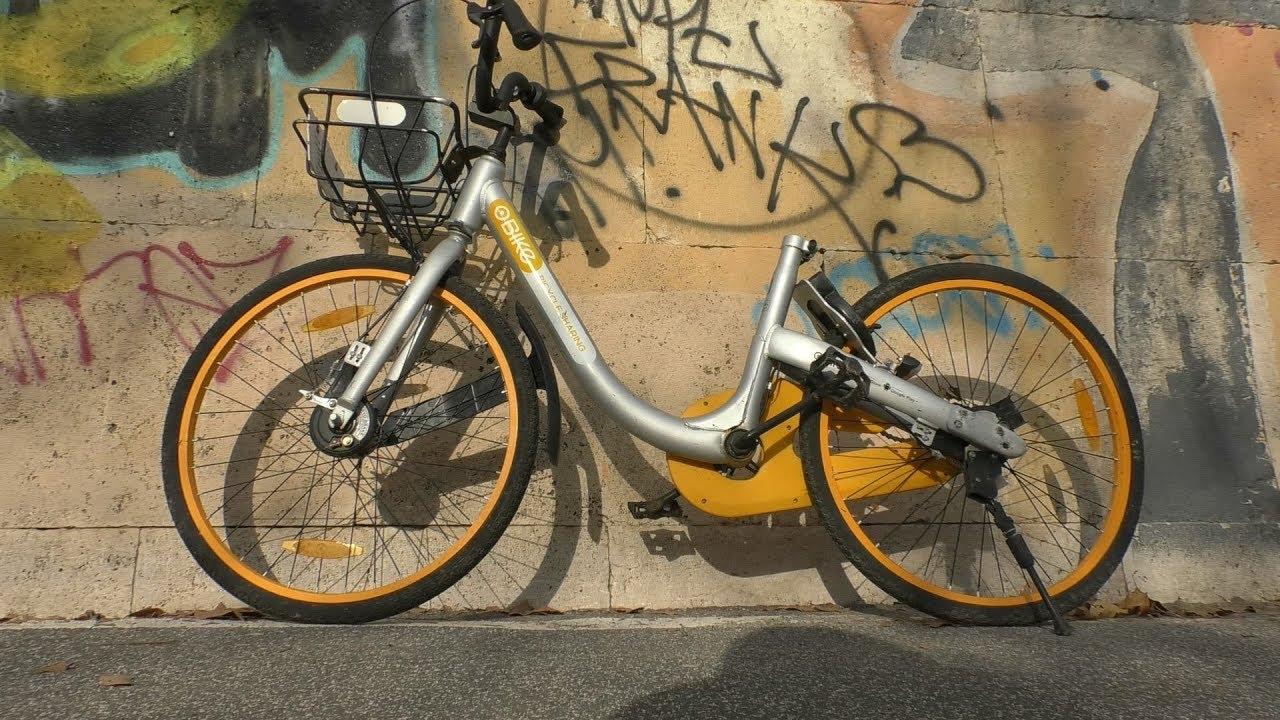 Il fallimento del bike sharing di Roma