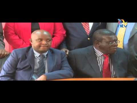 Leaders call on president Kenyatta to form an inquiry commision to look into the sugar report