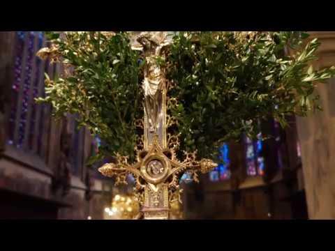 Impressionen  zu den Kar- und Ostertagen  in Musik, Bild und Text aus dem Aachener Dom