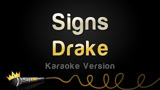 Drake - Signs (Karaoke Version)