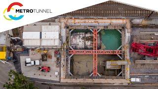 Western Portal crane install