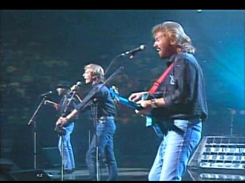 Bee Gees - Stayin' Alive 1989 Live Video