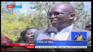 Rais Uhuru Kenyatta amaliza ziara yake Busia