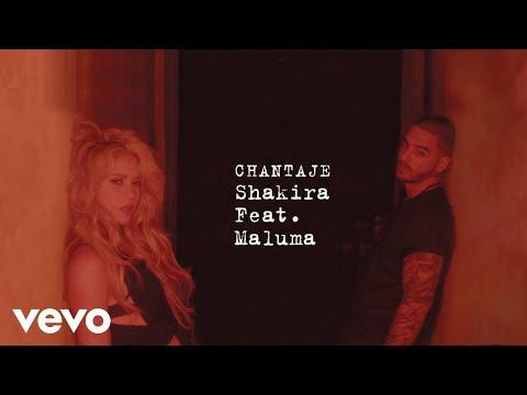 Chantaje (Audio) - Shakira (Video)