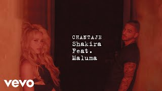 Chantaje (Audio) - Shakira (Video)
