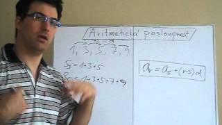 Aritmetická posloupnost - teorie