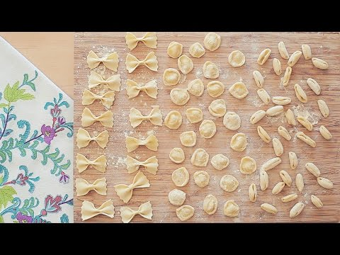 Original Italienischer Nudelteig Grundrezept ohne Ei