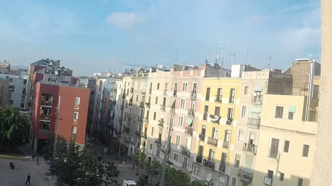 1 bedroom apartment with two balconies and air-conditioning in El Raval