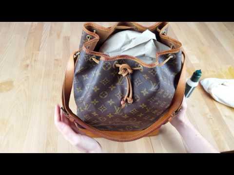 Louis Vuitton Noe GM Tasche reinigen   Tutorial   How to
