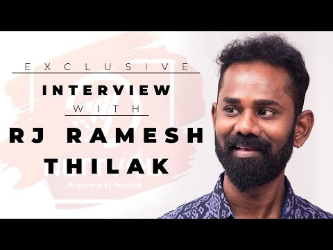 Exclusive Interview With RJ Ramesh  ..
