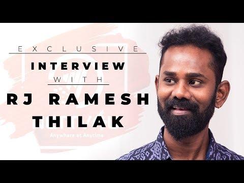தல அஜித்தை பத்தி பேச ஒரு நாள் பத்தாது - Exclusive Interview With RJ Ramesh Thilak