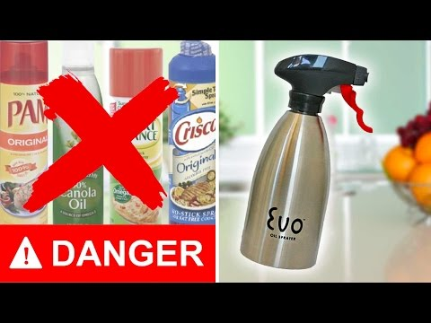 OLIVE OIL and MARINADE Sprayer Bottle - Don't EVER Buy Cooking Spray AGAIN!