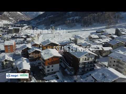 Video - Aprica trilocale piano terra vicino alle piste
