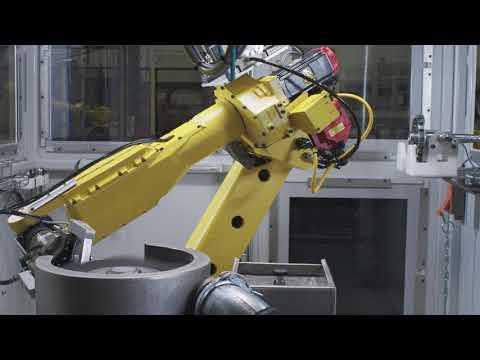 Robotic Deburring System III