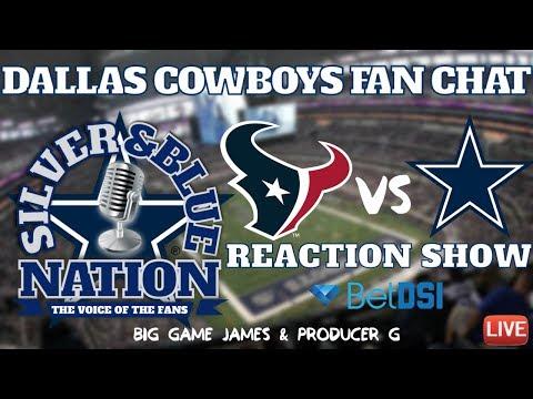 LIVE: Cowboys vs. Texans REACTION SHOW || Week 5 NFL