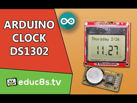 Virtuabotix Ds1302 Real Time Clock RTC Module for