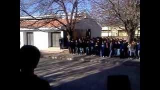 preview picture of video 'Himno Nacional Argentino - Coro alumnos de IPEA y M 224 Leopoldo Lugones'