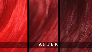 MANIC PANIC Vampire Red on Blonde, Dark blonde and Brown hair Review