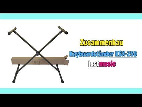 Aufbau des Keyboardständer KSX-250 Justmusic