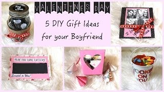 5 DIY Gift Ideas for Your Boyfriend!