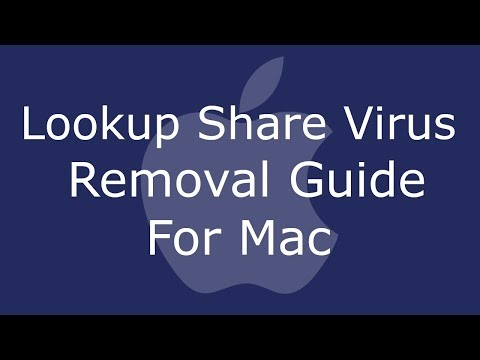 Lookup Share Virus App Removal For Mac