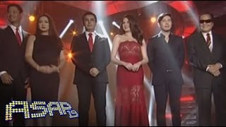 The powerhouse cast of Sana Bukas Pa Ang Kahapon on ASAP stage